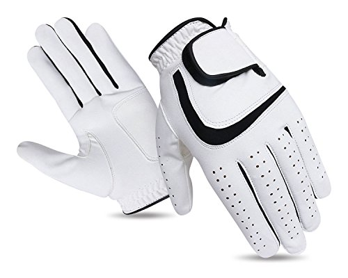 Set of 3 JL Golf all weather synthetic gloves - Choose your size and dexterity (Large)