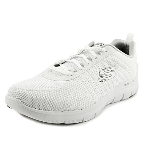 Skechers Flex Advantage 2.0 The Happs Herren Stoff Turnschuhe White