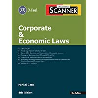 Taxmann's Scanner-Corporate & Economic Laws (CA-Final-New syllabus)(4th Edition 2020)