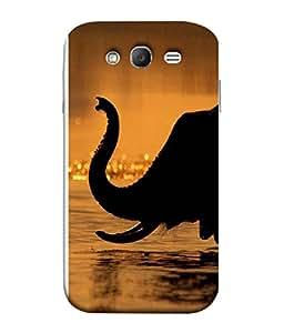 FUSON Designer Back Case Cover for Samsung Galaxy Grand I9082 :: Samsung Galaxy Grand Z I9082Z :: Samsung Galaxy Grand Duos I9080 I9082 (Animal Cat Cute Domestic Preety)