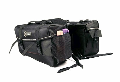 rynox stacker saddle bag (black) Rynox Stacker Saddle Bag (Black) 415JbdkrLZL
