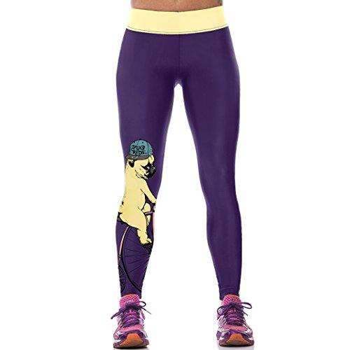 Sasairy-Donna-Sport-Pantaloni-Full-Length-Leggings-non-Pantaloni-Collant-Elastico-ci-si-Vede-Attraverso-Fitness-Workout-Yoga-in-Esecuzione-Hipster-Usura-Esterna-Palestra-S-L-Colore-004