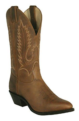 Soul Rebel Stiefel amerikanischen-Cowboystiefel: Schlangenhaut Stiefel Country bo-6704-672-eee (Fuß stark)-Herren-Braun, Braun - Braun - braun - Größe: 43.5 (Boulet Boots Western Männer)