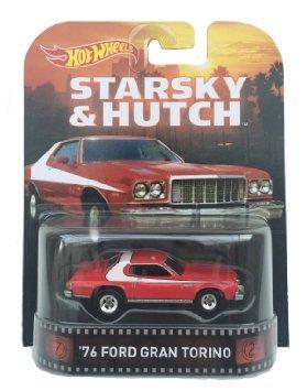 1976 Ford Grand Torino Starsky & Hutch 1:64 Hot Wheels CFR34 Retro Entertainment