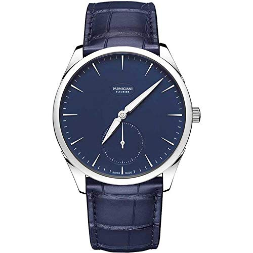 Parmigiani Men's Tonda 1950 40mm Blue Automatic Watch PFC288-0000600-XA3142