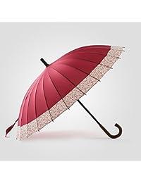 LJHA yusan Paraguas   24 costillas a prueba de viento   manija larga    paraguas portátil creativo de las señoras del… 67a87aa6d3383
