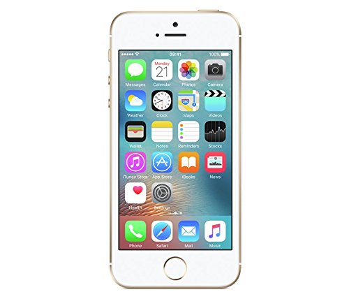 "Apple iPhone SE 4"" SIM única 4G 64GB Oro, Blanco - Smartphone (10,2 cm (4""), 64 GB, 12 MP, iOS, 9, Oro, Blanco)"