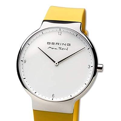 BERING Reloj Analogico para Mujer de Cuarzo con Correa en Silicona 15540-600 de Bering