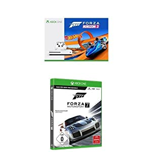 Xbox One S 500GB + Forza Horizon 3 Hot Wheels + Forza Motorsport 7