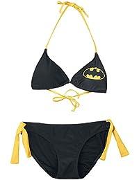 Batman Logo Bikini noir/jaune