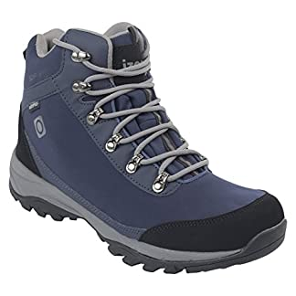 IZAS Men Gouter Outdoor Hiking Boot - Bluemoon/Silver, One Size 9