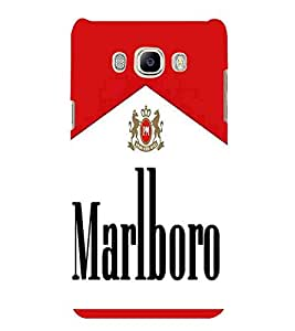 For Samsung Galaxy J7 (6) 2016 :: Samsung Galaxy J7 2016 Duos :: Samsung Galaxy J7 2016 J710F J710Fn J710M J710H brown icon, icon, red white background Designer Printed High Quality Smooth Matte Protective Mobile Case Back Pouch Cover by APEX