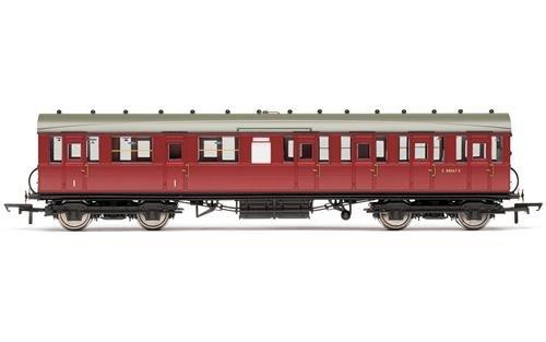 Hornby R4521C BR Gresley Suburban - Entrenador de Clase composta 'E88067E' Multi