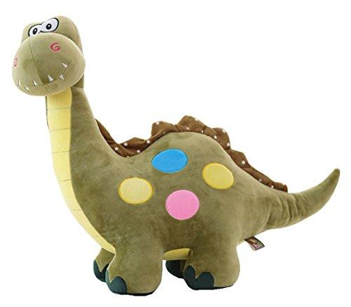 "Suave cojín dinosaurio lindo relleno de juguete linda muñeca de felpa (l) 21.6 """