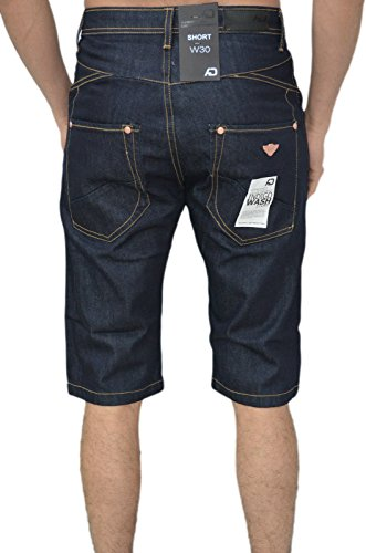 Arrested Development -  Pantaloni  - cargo - Uomo Raw Wash Dark Blue