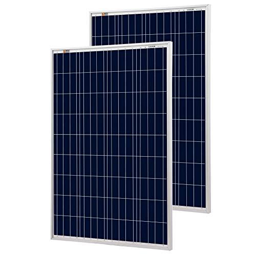 Richsolar 100 Watt monokristalline 100 W 12 V Solarpanel Hocheffizientes Monomodul RV Marine Boot Off-Gitter Rv Marine Batterien