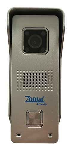 Zodiac IMAGO Videocitofono IP WiFi 720P, Grigio