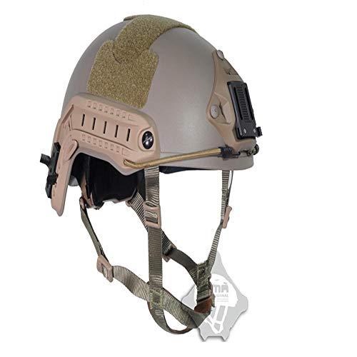 YXACE Tactical Helmet Climbing and Mountaineering Helmet Zum Klettern Outdoor-Aktivitäten Rescue Weathering Rückruf Descent Head Protection Command L/XL(58-61cm) -