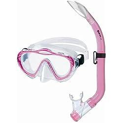 Mares 411729 Kit de randonnée Aquatique Mixte Enfant, Rose