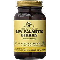 Solgar Baies de Saw Palmetto 100 Gélules Végétales