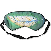 Eye Mask Eyeshade Feather Painting Sleeping Mask Blindfold Eyepatch Adjustable Head Strap preisvergleich bei billige-tabletten.eu