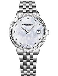 Raymond Weil Toccata Mère de Pearl cadran Mesdames Diamant Montre 5388-sts-97081par Raymond Weil
