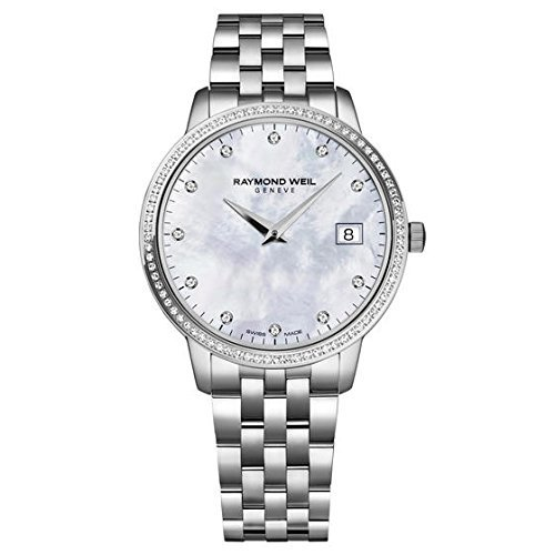 Raymond Weil Toccata Mother of Pearl Dial Diamond Ladies Watch 5388-STS-97081 by Raymond Weil