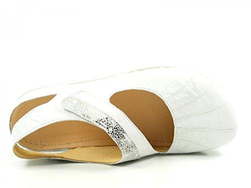 Dr. Brinkmann 710739 Ballerines femme Weiß