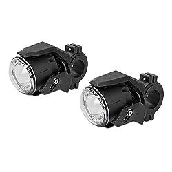 Motorrad Zusatzscheinwerfer ZS3 für Honda Africa Twin CRF 1000 L LED E-Zulassung Lumitecs 12V/24V 600 Lumen inkl. Kabelbaum