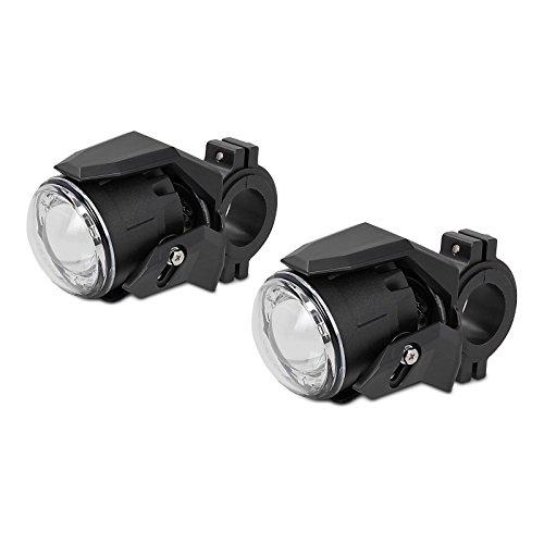Preisvergleich Produktbild Motorrad Zusatzscheinwerfer ZS3 Junak M16 320 LED E-Zulassung Lumitecs 12V / 24V 600 Lumen inkl. Kabelbaum