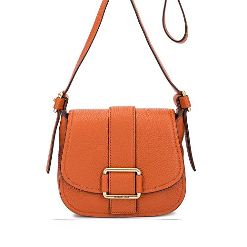 Michael Satteltasche Kors Maxine Leder Orange Damen MICHAEL Orange vTpdwv