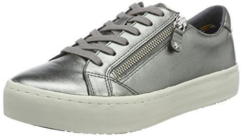 Argent 2z2 Sneakers Scuro Femme Tommy J1285upiter Bassi Hilfiger argento wzC77qSxU