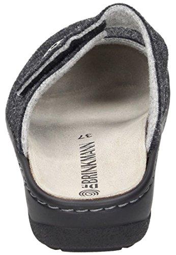 Dr. Brinkmann Damen-Pantolette schwarz 701095-1 schwarz
