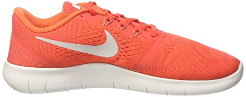 Nike Unisex-Kinder Free Rn Lauflernschuhe Sneakers Mehrfarbig (Max Orange / Pure Platinum / Orchid / Off / White)