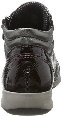 Ara Rom-Stf - Pantofole a Stivaletto Donna Rosso (Rot (Brunello, Gun)