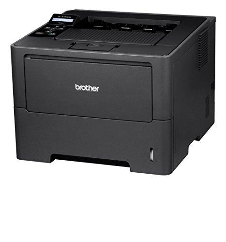 Brother HL-6180DW Monochrome Laserdrucker mit Duplexdruck (1200 x 1200dpi, LAN/WLAN) dunkelgrau