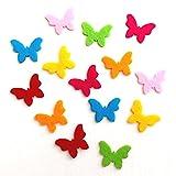 Bastelfilz Figuren Set - Kleiner Schmetterling, Filz, Textilfilz, Streudeko