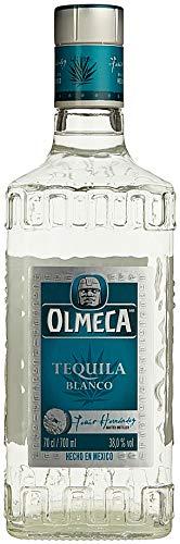 Olmeca Blanco Tequila Clasico - Klarer Tequila Silver mit süßer und belebender Agaven-Note - Mexikanische Spirituose aus dem Herzen der blauen Agave - 1 x 0,7 L