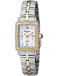 RAYMOND WEIL WOMEN'S STEEL BRACELET & CASE SWISS QUARTZ WATCH 9740-STS-00995