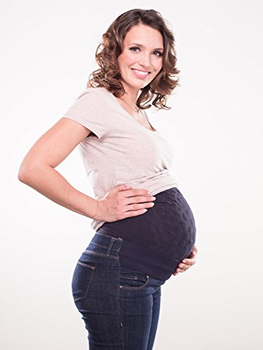 Prevent Stretch Marks with The Secret Saviours Patented and Clinically Tested Maternity Belly Bump Support Band.