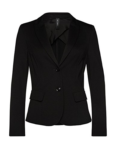 Marc Cain Essentials Damen Blazer +E3410J24 Schwarz (Black 900)