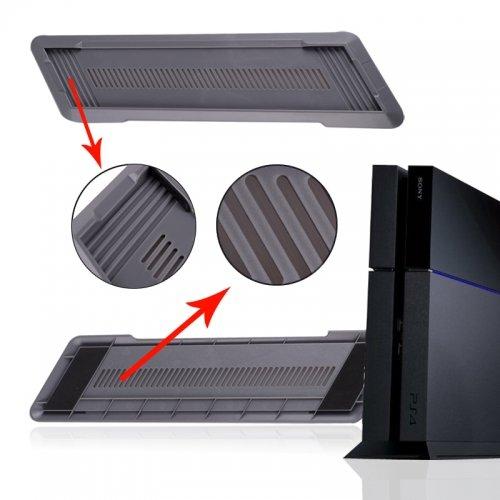 SAR-Market - PS4 Vertikal Standfuß für ihre Playstation 4 Konsole (grau)