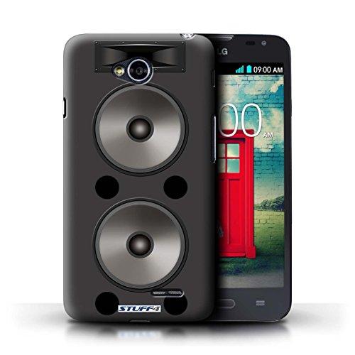 Kobalt® Imprimé Etui / Coque pour LG L70/D320 / Autoradio conception / Série Haut-Parleur dessin Double