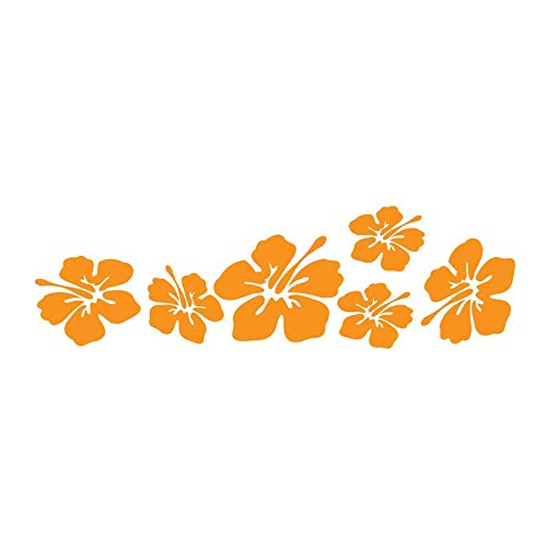 Tropical Flower Hibiscus Vinyl Wall Decal Home Decor