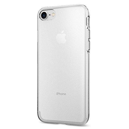 Funda iPhone 7, SPIGEN® [Liquid Crystal] Flexible TPU, Protección Delgada y Claridad Premium para iPhone 7 2016 - Transparente