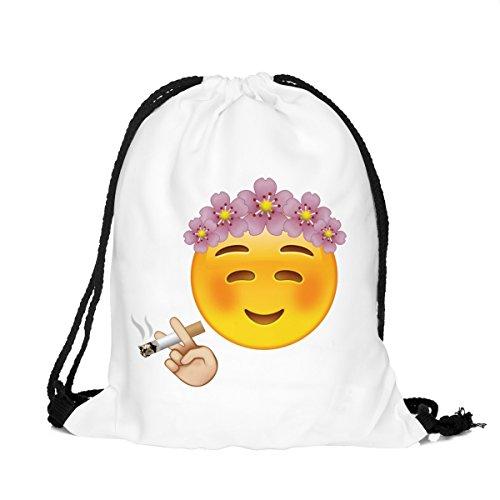 Imagen de fullprint gimnasio nadar escuela deporte cincha saco bolsas  hipster emoji chill