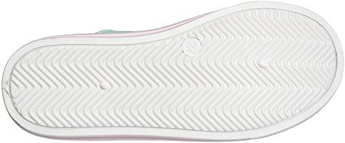 Vaiana Va000083, chaussons d'intérieur fille Türkis (White/L.T.BLUE/L.T.GREEN 006)