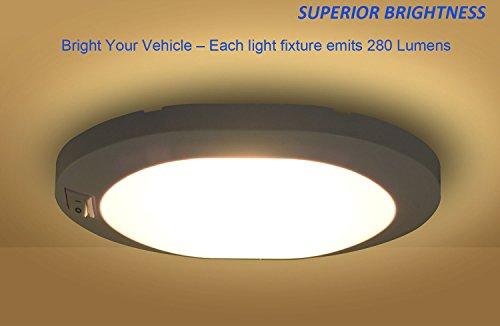 Plafoniere A Led 12 Volt Per Camper : Facon v w luci per portico little star led di auto plafoniera
