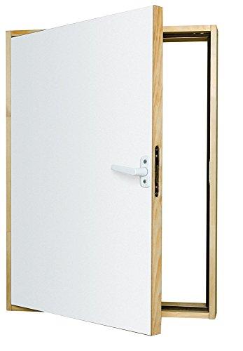Kniestocktür ermöglicht einen einfachen Zugang zum Dachboden