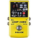 NUX Boucle Coeur Guitare Effet Pédale 6 Heures Enregistrement Temps, 99 Utilisateur Souvenirs, Tambour Patterns avec ROBINET Tempo
